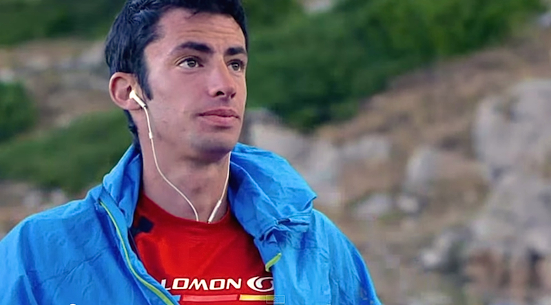 The top ultra-runner on planet earth - Kilian Jornet Burgada.