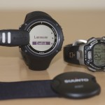 Suunto Ambit2 R GPS running watch and Timex Ironman with heart rate monitor.