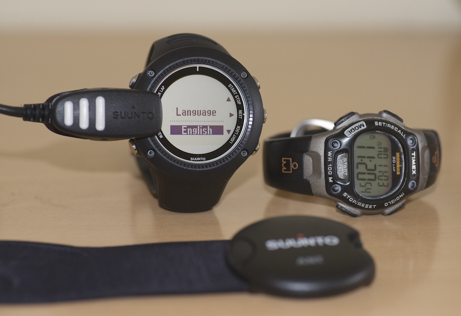Suunto Ambit2 R and Times Ironman