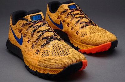 Mens Nike Zoom Terra Kiger V3 - orange trail running shoes for technical terrain.