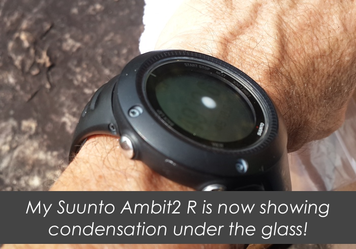 Suunto Ambit2-R BROKEN with four different problems.
